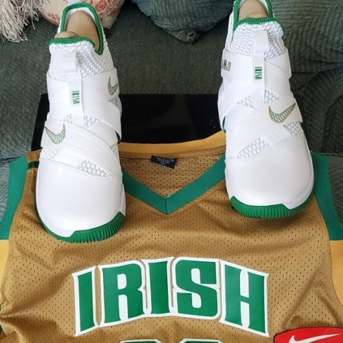 huge selection of ed8c6 25d27 Benzer Shoes   Lebron Soldier 12 Irish